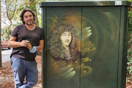 street art c215 parc maisons-laffitte